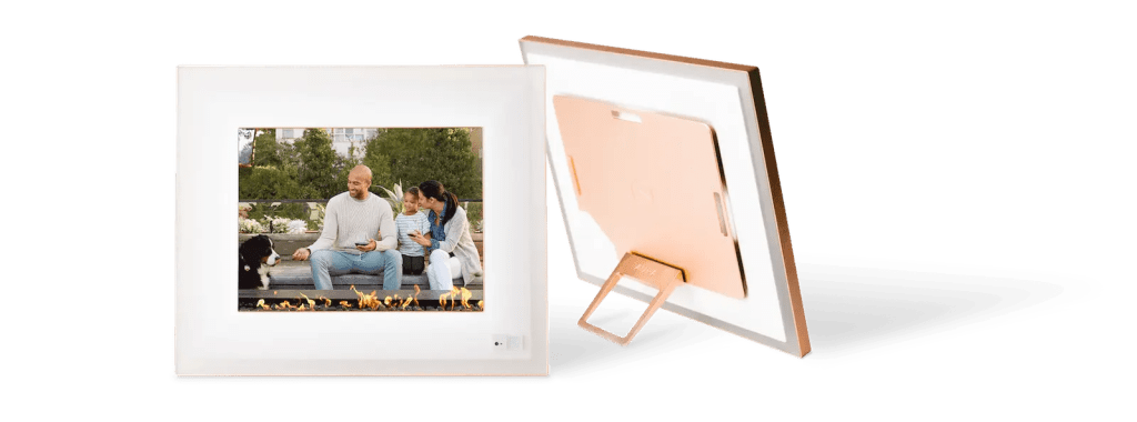 Rose gold Aura Digital Picture frame discount