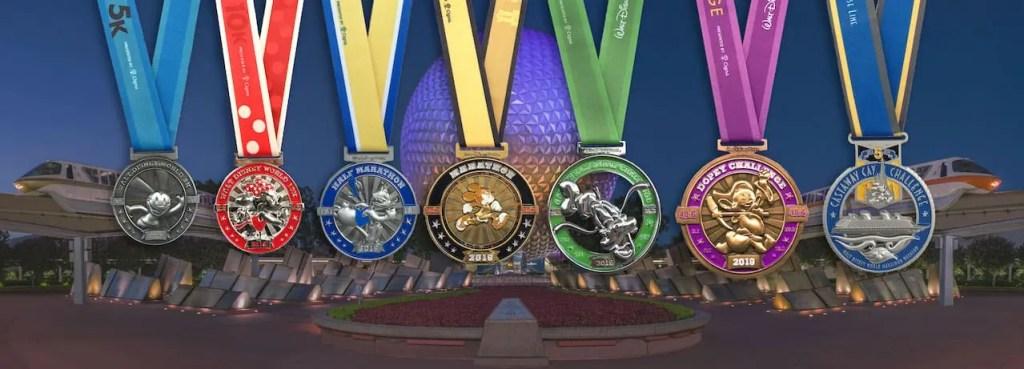 Disney World Marathon Medals