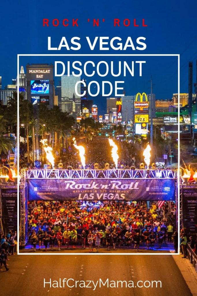 Discount code to run Rock n Roll Las Vegas 5k, 10k, half marathon, and full marathon. |Rock N Roll Races| Las Vegas Marathon| November Las Vegas Race | Rock N Roll Marathon| #runners