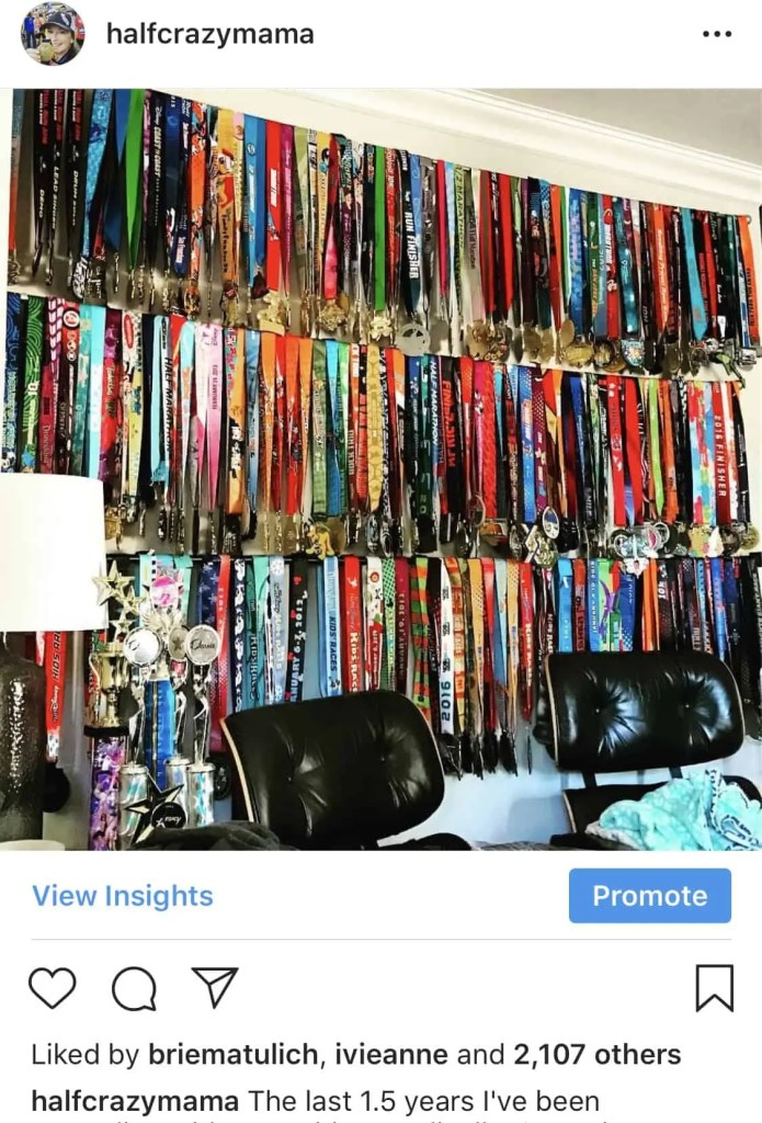 Medal Rack Display Ideas | marathon medals | runner ideas | medal display | medal racks | running | race medals | runners on Instagram