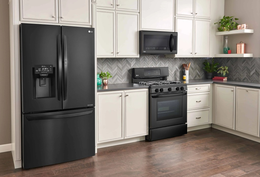 LG Matte Kitchen Appliances