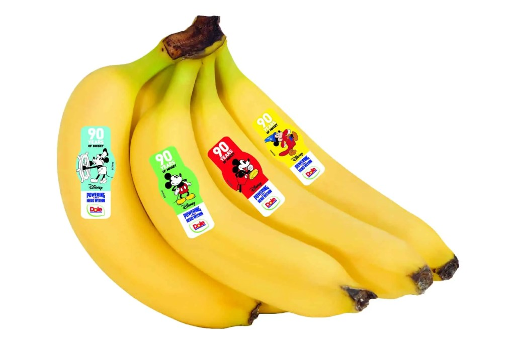 Mickey Banana Stickers