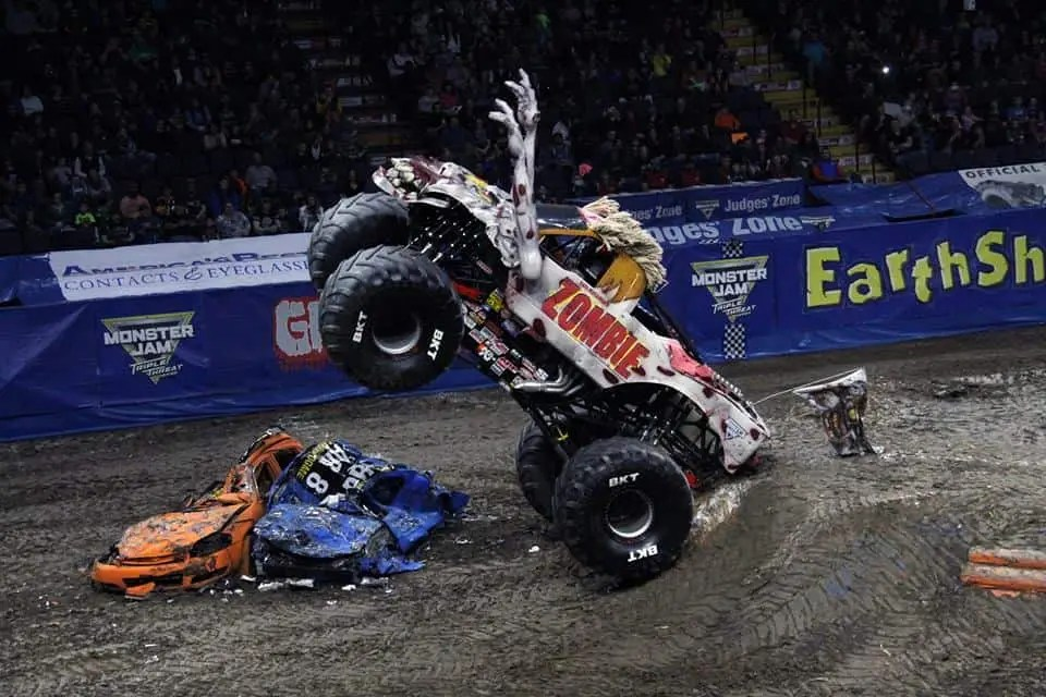 Monster Jam family truck show