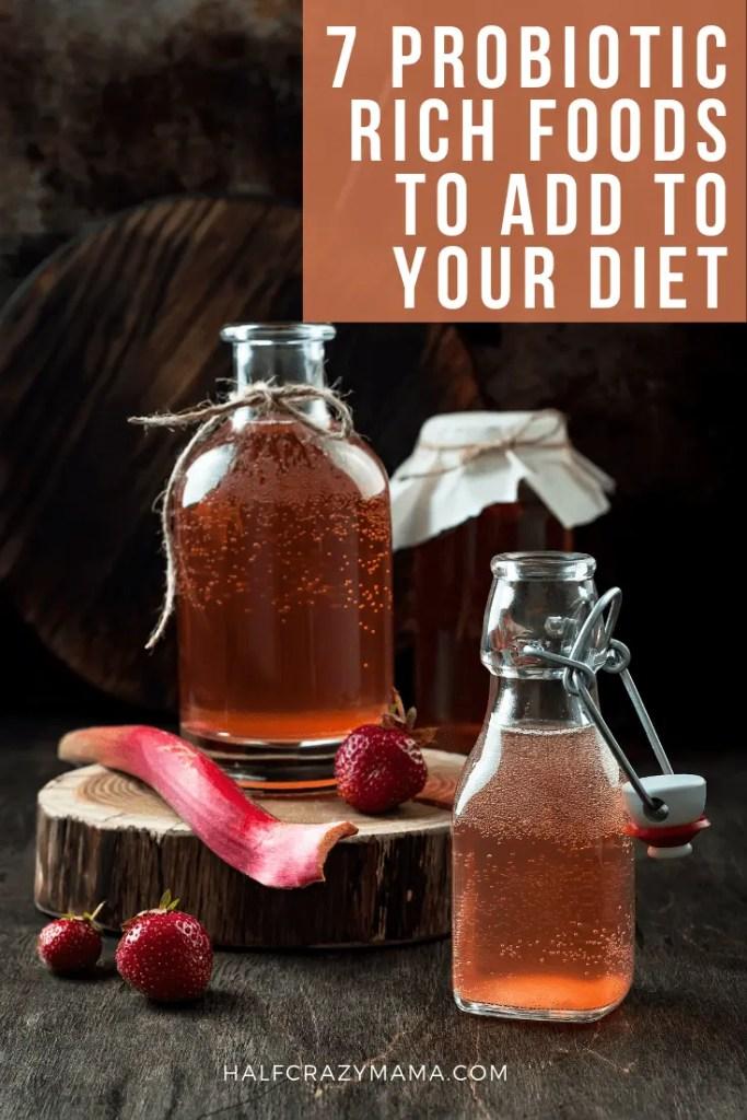probiotic rich food
