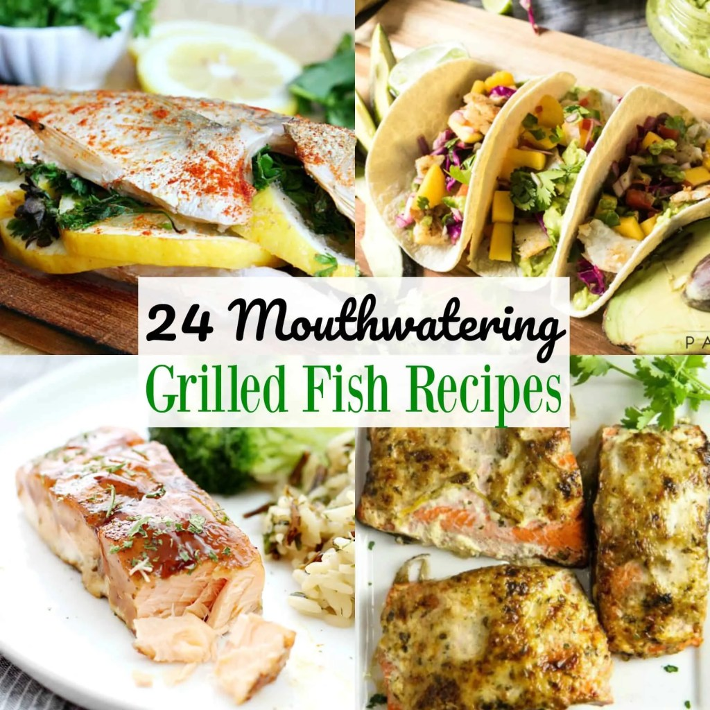 Grilled Fish Recipes Roundup