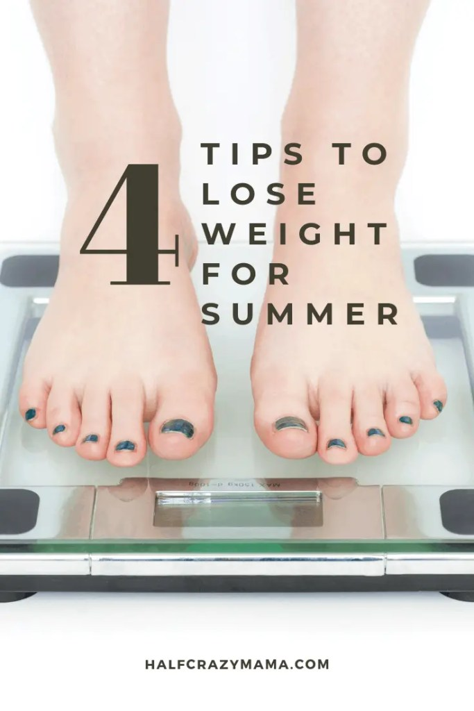 4 tips to lose weight for summer
