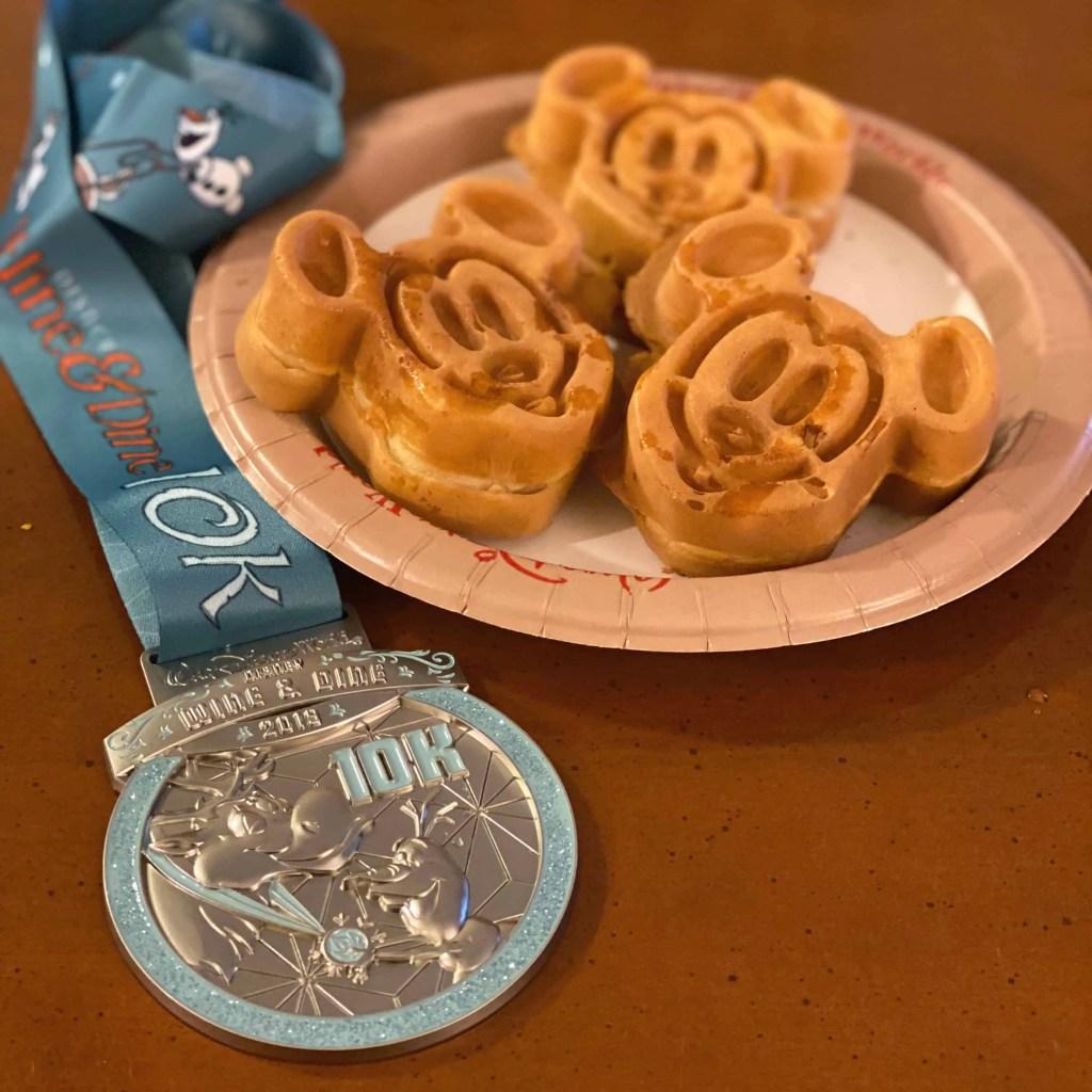 runDisney Wine & Dine 10k medal