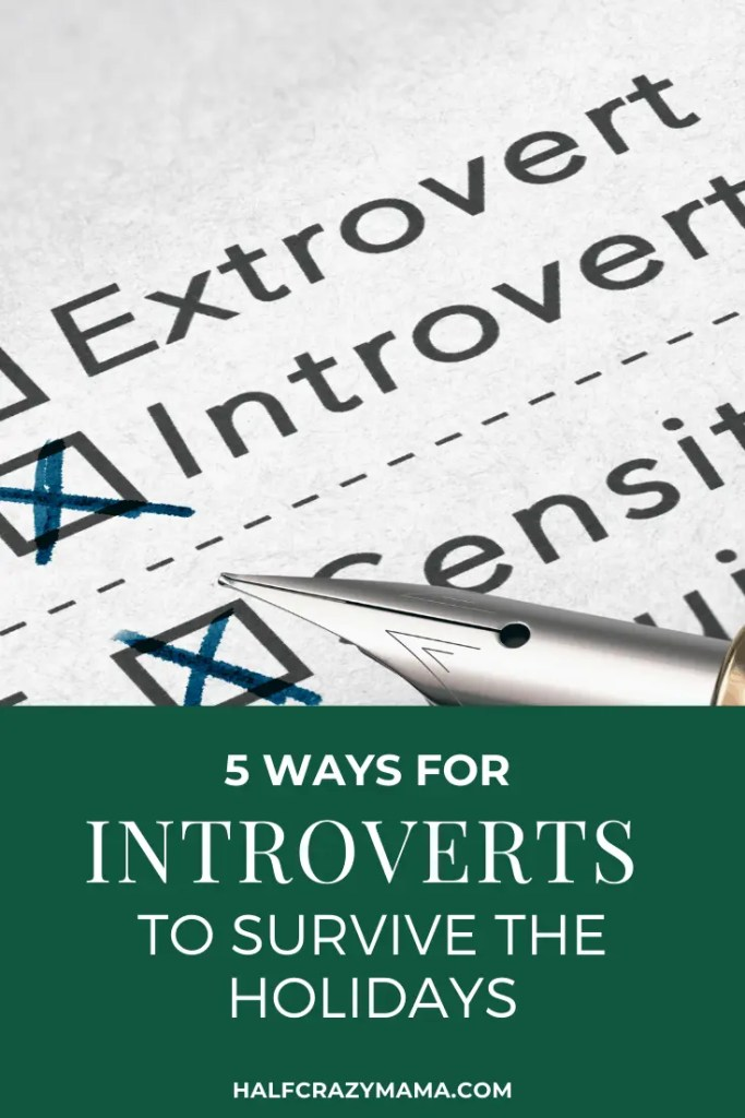the holidays for introverts