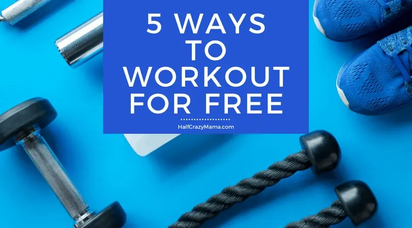 5 ways to workout for free