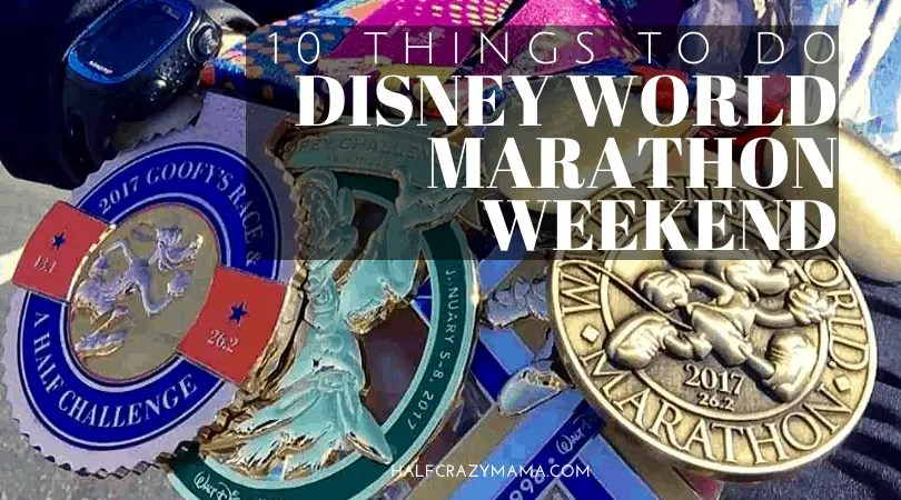 10 Things to do Disney World Marathon Weekend