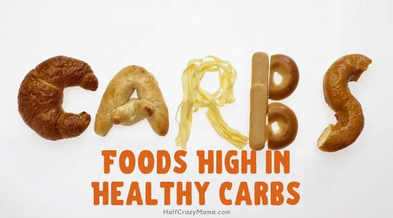 Good carb foods