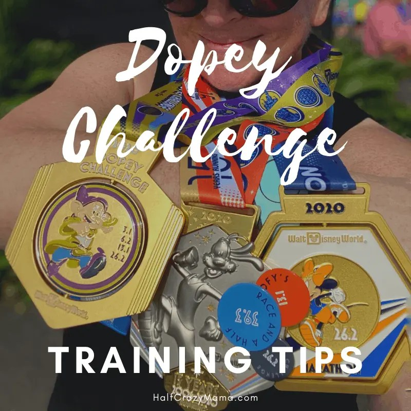 Dopey training tips