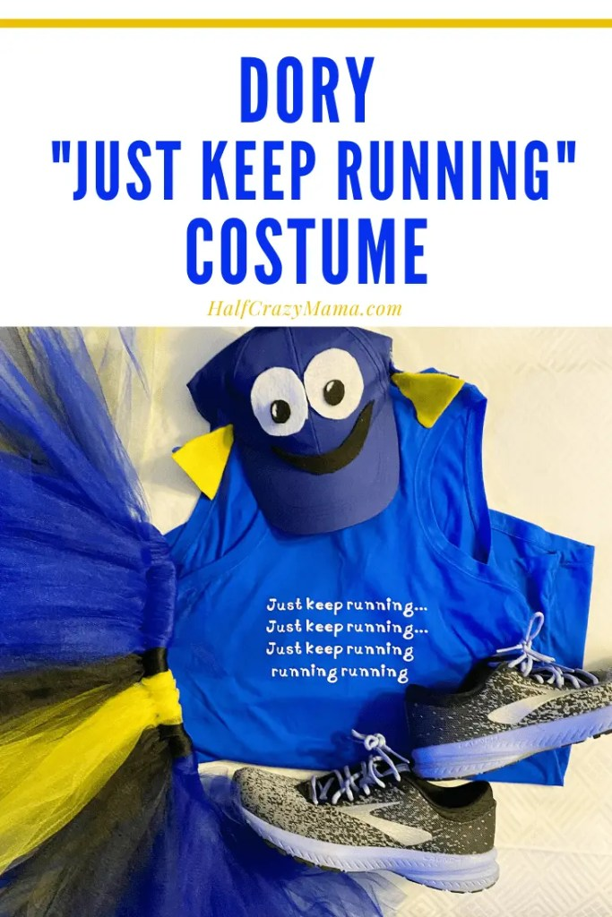 Dory the Fish Running Costume