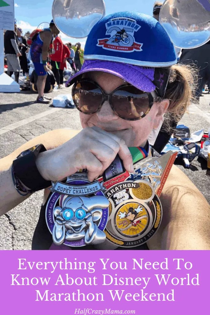 running at Disney World