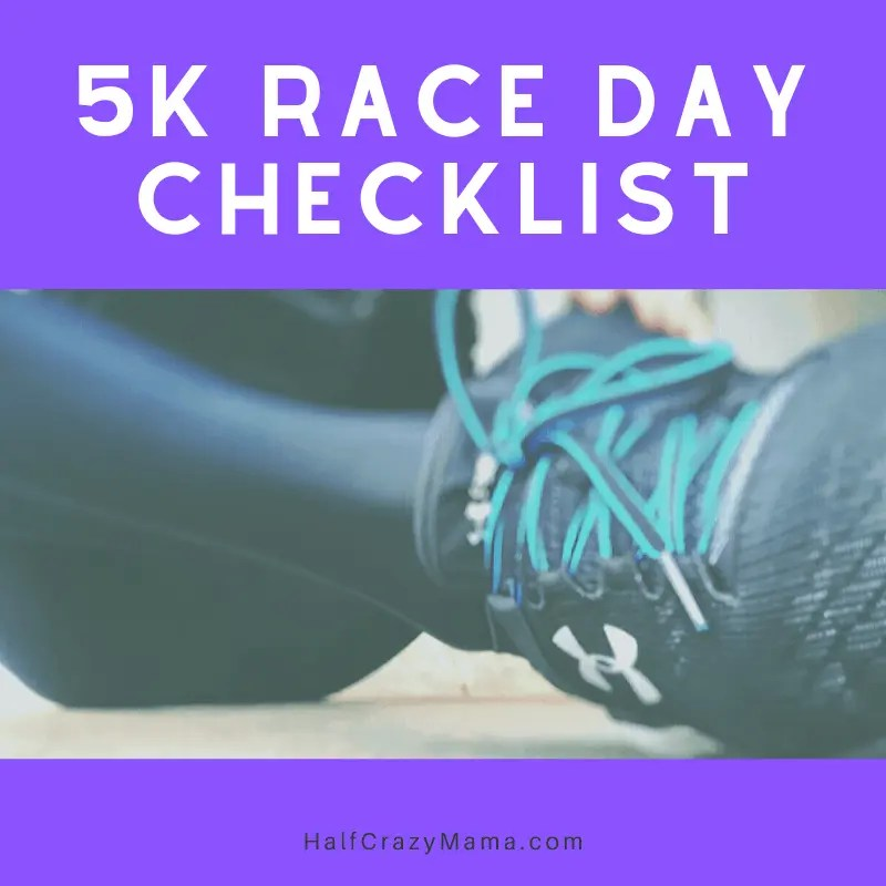5k checklist