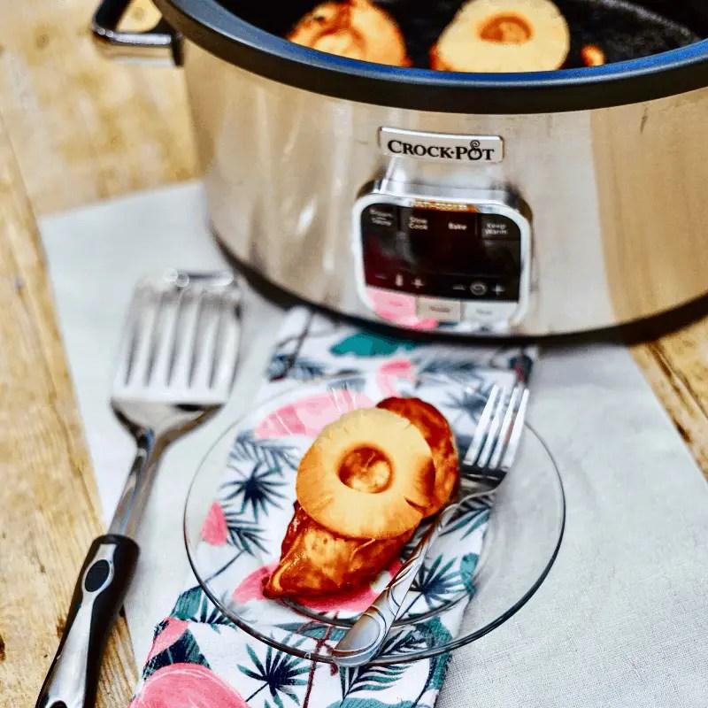 Better for you crockpot hawaiian chicken