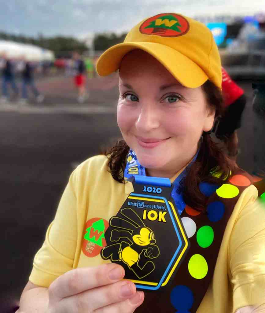 10k disney medal