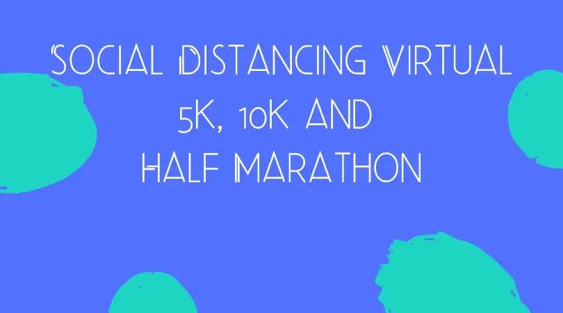virtual running race