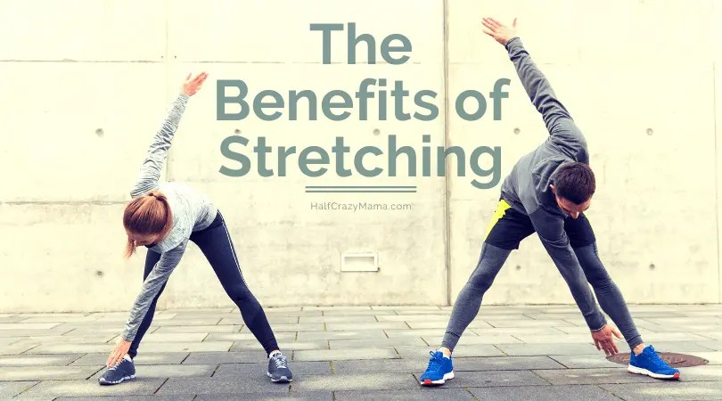 2 people stretching