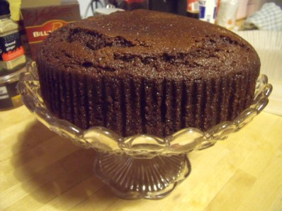 Ginger spice and rum cake