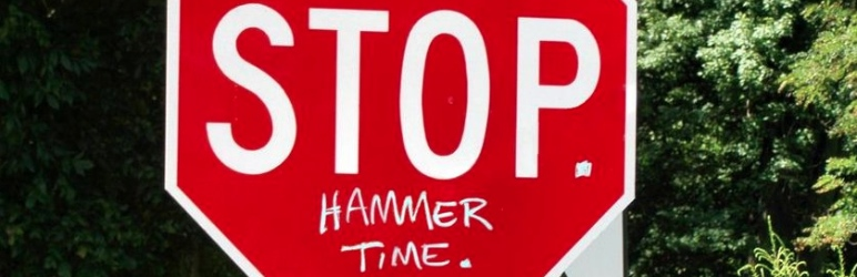 Ban Hammer - Stop. Hammer Time.