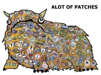 Alot of Patches