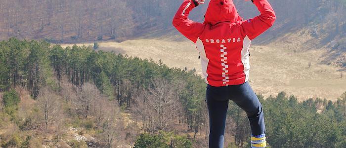 Success on a mountain top
