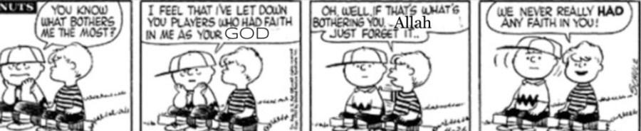 Charlie Brown satire religion