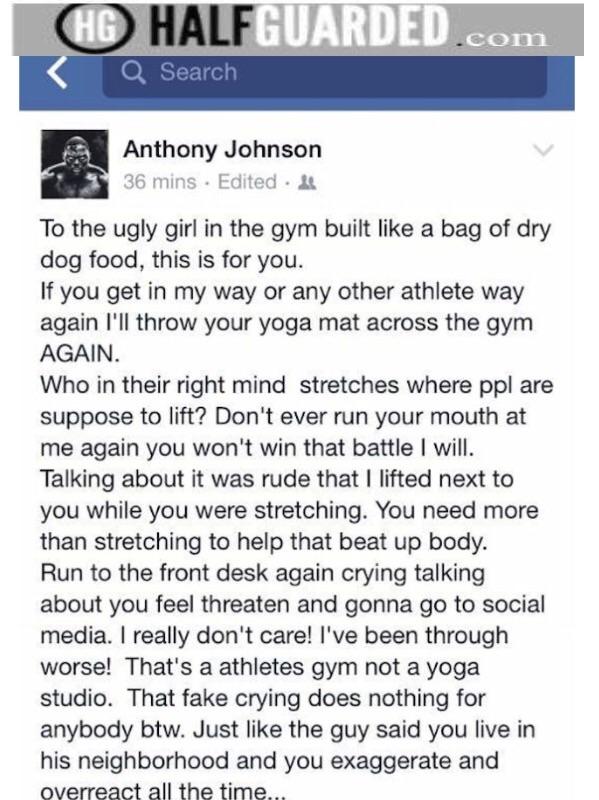 Anthony Johnson Facebook