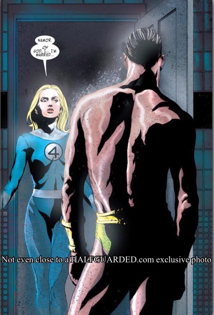 Namor seduces Sue Storm