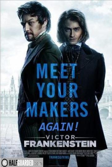 Victor Frankenstein 2 Poster