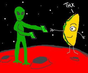 Martian high school stoner
