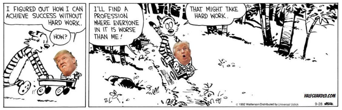 Calvin and Hobbes and Donald Trump