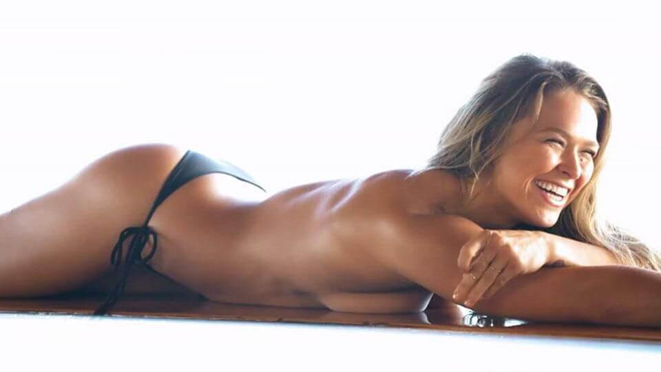 Ronda Rousey Hot and Sexy Bikini Photos with Boyfriend
