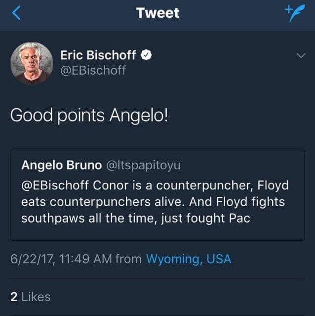 Conor Floyd tweet