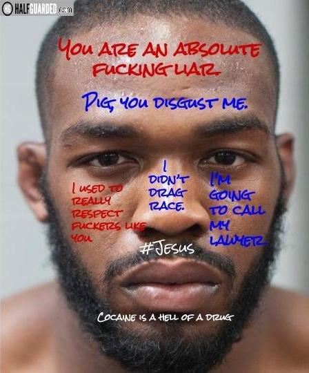 Jon Jones UFC 200 Poster