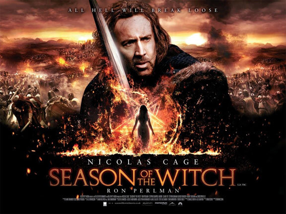 Will there be a Season of the Witch 2? Will Nic Cage return?