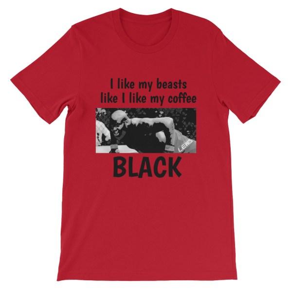 Derrick Lewis Black Coffee T Shirt