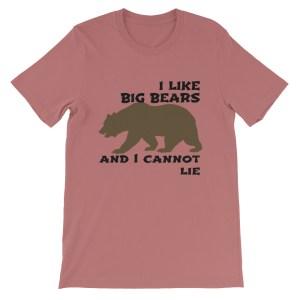 I LIKE BIG BEARS T SHIRT