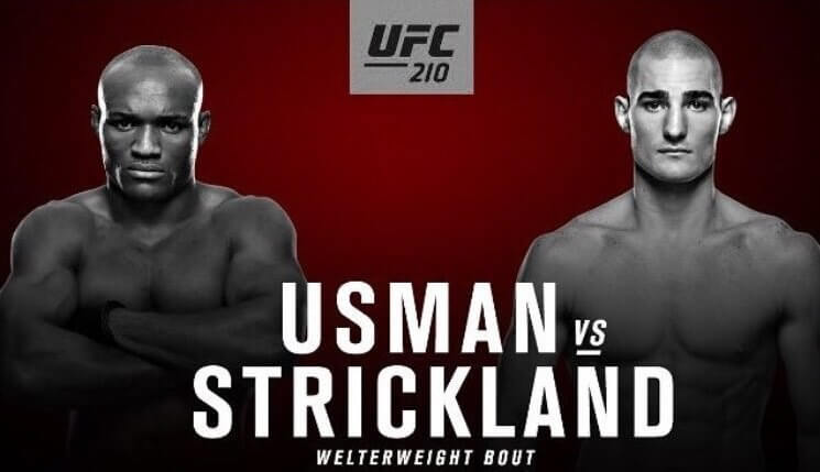 ufc 210 undercard fight result