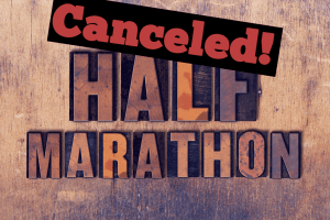 What Should I do if My Half Marathon Race Gets Canceled - feature