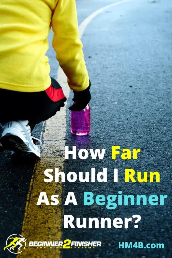 How Far Should I Run As A Beginner Runner - pin