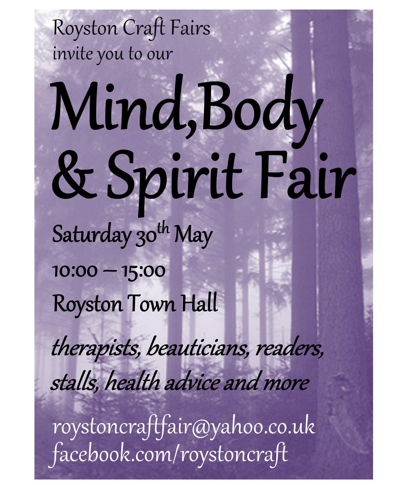 Mind Body Spirit Poster Royston