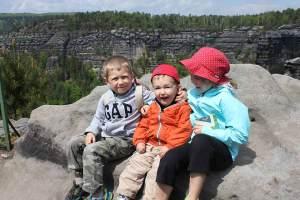 Emilys Kids Anna, Oliver, and Samuel