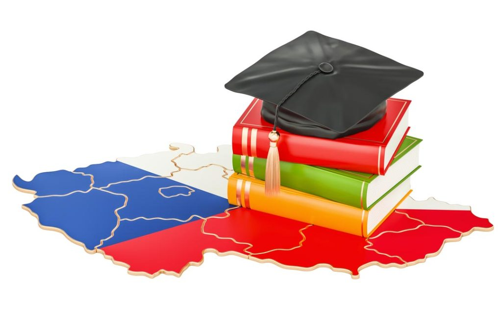 Education in Czech Republic concept