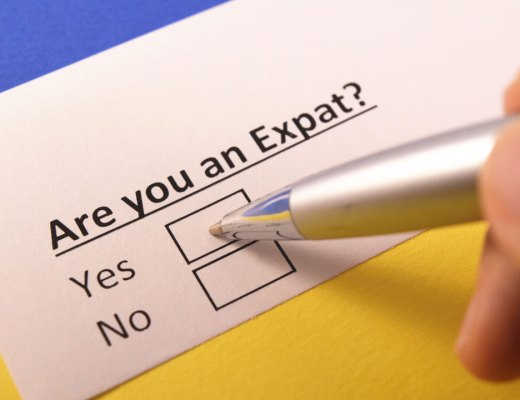 Are you an expat? Yes or no