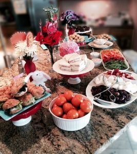 Food table, Alice in Wonderland Tea Party | Halfpint Design