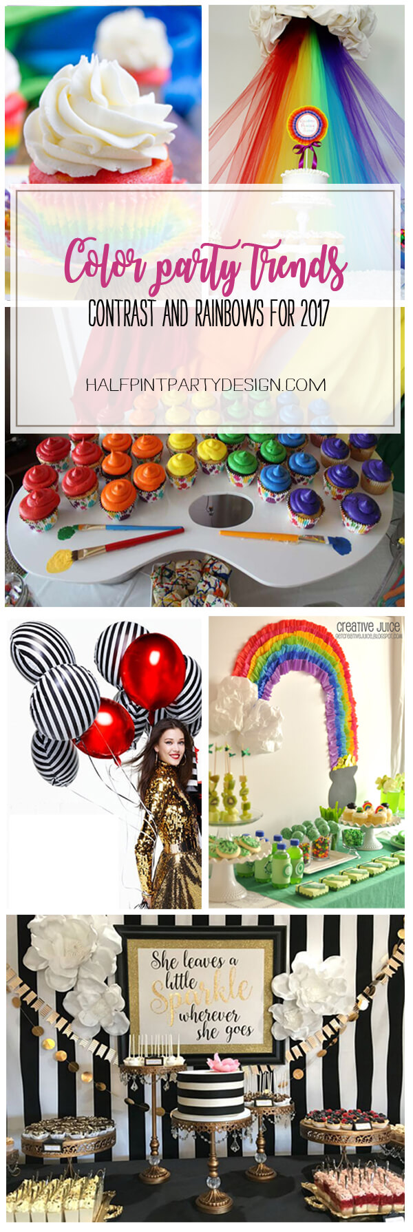Color Party Trends for 2017 | Halfpint Design