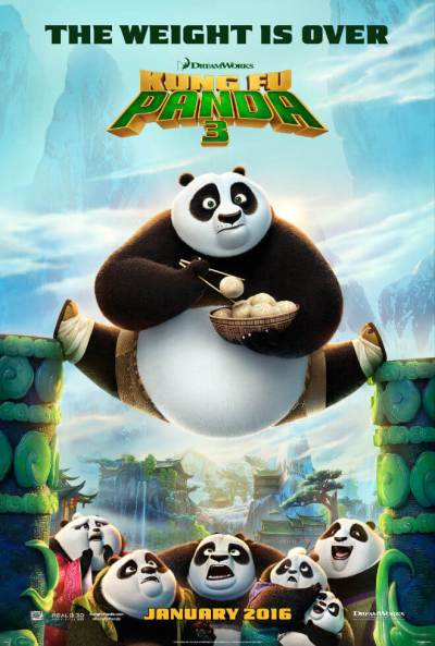 Mini-Oscars: for the best children's movies of 2016 voted on by children | Halfpint Design - Kung Fu Panda 3