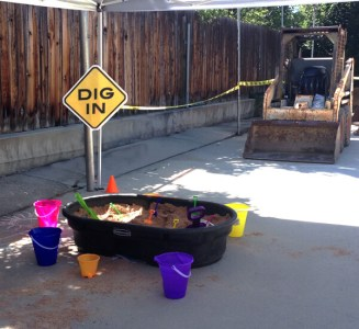 Construction 3rd birthday party blast | Halfpint Party - Construction party activity #3 - Excavation Station